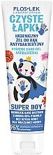 Düfte, Parfümerie und Kosmetik Antibakterielles Handreinigungsgel für Jungen - Floslek Super Boy Hygienic Antibacterial Hand Gel