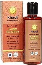 "Anti-Cellulite Öl ""10 Kräuter"" - Khadi — Bild N2"