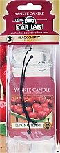 Düfte, Parfümerie und Kosmetik Auto-Lufterfrischer Black Cherry - Yankee Candle Car Jar Black Cherry