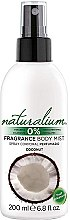Düfte, Parfümerie und Kosmetik Körperspray Kokos - Naturalium Body Mist Coconut