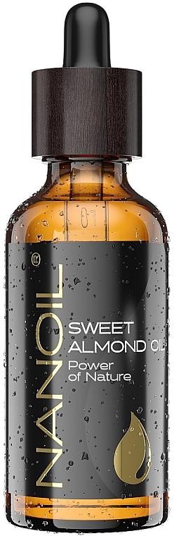 Mandelöl für Gesicht, Haar und Körper - Nanoil Body Face and Hair Sweet Almond Oil