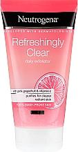 Düfte, Parfümerie und Kosmetik Gesichtspeeling mit rosa Grapefruit und Vitamin C - Neutrogena Refreshingly Clear Daily Exfoliator