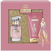 Düfte, Parfümerie und Kosmetik Naomi Campbell Pret a Porter Silk Collection - Duftset (Eau de Toilette 15ml + Körperlotion 50ml)