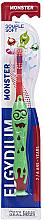 Düfte, Parfümerie und Kosmetik Zahnbürste für Kinder 2-6 Jahre rot - Elgydium Kids Monster Toothbrush