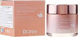 Düfte, Parfümerie und Kosmetik Anti-Falten Gesichtscreme mit Liftingeffekt - Borntree Dr.Tree Volu 10 Snail Cream