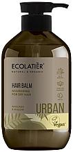 Düfte, Parfümerie und Kosmetik Nährende Haarspülung für trockenes Haar mit Avocado und Malve - Ecolatier Urban Hair Balm