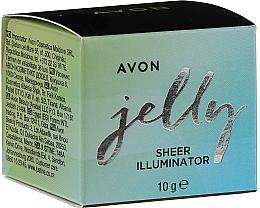 Düfte, Parfümerie und Kosmetik Gel-Highlighter für Körper und Gesicht - Avon Jelly Sheer Illuminator