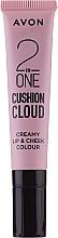 Düfte, Parfümerie und Kosmetik 2in1 Lippentint und Rouge - Avon 2 In One Cushion Cloud Creamy Lip & Cheek Coloure
