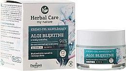 Düfte, Parfümerie und Kosmetik Intensive feuchtigkeitsspendende Gesichtscreme - Farmona Herbal Care Blue Algae Cream