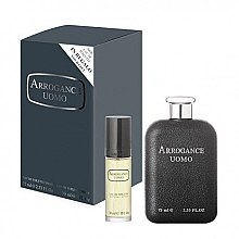 Düfte, Parfümerie und Kosmetik Arrogance Uomo - Duftset (Eau de Toilette 75ml+Eau de Toilette 30ml)