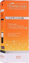 Düfte, Parfümerie und Kosmetik Aufhellende und nährende Gesichtsmaske mit Vitamin C - Bielenda Professional Supremelab Energy Boost