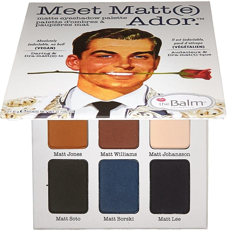 Lidschattenpalette - theBalm Meet Matt(e) Ador Matte Eyeshadow Palette