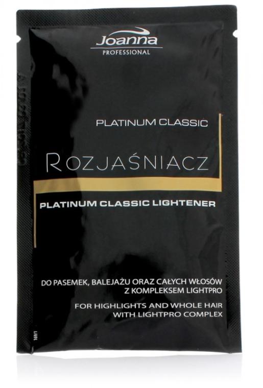 Staubfreies Haarbleichmittel - Joanna Professional Platinum Classic Lightener (sashet)