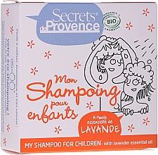 Düfte, Parfümerie und Kosmetik Festes Shampoo für Kinder mit ätherischem Lavendelöl - Secrets De Provence My Children Shampoo Lavender Essential Oil