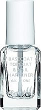 Düfte, Parfümerie und Kosmetik 3in1 Nagelhärter, Nagelunterlack und -überlack - Barry M All In One Nail Paint
