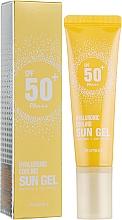 Düfte, Parfümerie und Kosmetik Kühlendes und feuchtigkeitsspendendes Sonnenschutzgel für das Gesicht mit Hyaluronsäure und Eukalyptusextrakt SPF 50+ - Deoproce Hyaluronic Cooling Sun Gel
