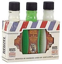 Düfte, Parfümerie und Kosmetik Haarpflegeset - Reuzel Degrease Trio Kit (Shampoo 100ml + Shampoo-Peeling 100ml + Haarspülung 100ml)