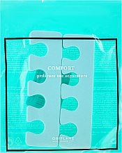 Düfte, Parfümerie und Kosmetik Pediküre Trenner minzfarbig - Oriflame Pedicure Toe Separators
