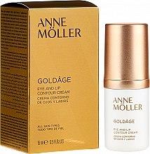 Düfte, Parfümerie und Kosmetik Augen- und Lippenkonturcreme - Anne Moller Goldage Eye and Lip Contour Cream