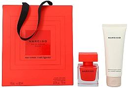 Düfte, Parfümerie und Kosmetik Narciso Rodriguez Narciso Rouge - Duftset (Eau de Parfum 30ml + Körperlotion 75ml)