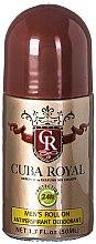 Düfte, Parfümerie und Kosmetik Cuba Royal - Deo Roll-on Antitranspirant
