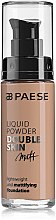 Düfte, Parfümerie und Kosmetik Foundation - Paese Liquid Powder Double Skin Matt