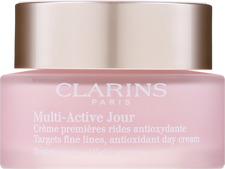 Anti-Falten Tagescreme für alle Hauttypen - Clarins Multi Active Antioxidant Day Cream All Skin Type