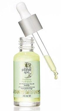 """Feuchtigkeitsspendendes und regenerierendes Gesichtsöl mit mediterranem Olivenöl """"Heavenly Hydration"""" - Avon Planet Spa — Bild N1"""
