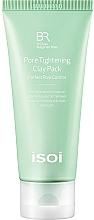 Düfte, Parfümerie und Kosmetik Porenreinigende Gesichts- und Körpermaske gegen überschüssigen Talg mit Tonerde - Isoi Bulgarian Rose Pore Tightening Clay Pack
