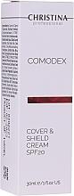 Düfte, Parfümerie und Kosmetik Abdeckcreme für fettige und Problemhaut - Christina Comodex Cover & Shield Cream SPF 20