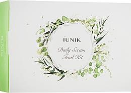 Düfte, Parfümerie und Kosmetik Gesichtspflegeset - iUNIK Daily Serum Trial Kit (Gesichtsserum 3x15ml)
