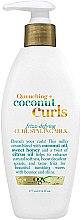 Düfte, Parfümerie und Kosmetik Stylingmilch für lockiges Haar mit Kokosnuss - OGX Organix Quenching + Coconut Curls Frizz-Defying Curl Styling Milk