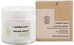 Düfte, Parfümerie und Kosmetik Reichhaltige pflegende und regenerierende Körperbutter für trockene und empfindliche Haut - Comfort Zone Sacred Nature Bio-Certified Body Butter
