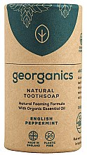 Düfte, Parfümerie und Kosmetik Zahnseife mit Arganöl - Georganics Tooth Soap Stick English Peppermint