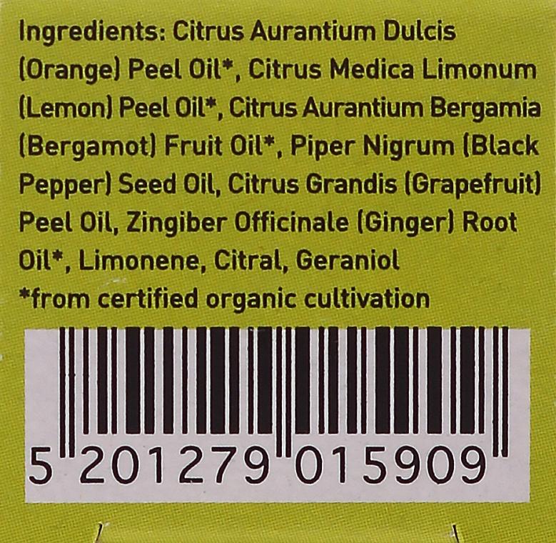Erfrischende Ölmischung aus Bergamotte, Zitrone und Grapefruit - Apivita Aromatherapy Essential Oil Refresh — Bild N3