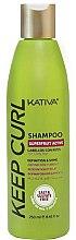 Düfte, Parfümerie und Kosmetik Pflegendes Shampoo für lockiges Haar - Kativa Keep Curl Shampoo