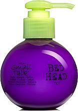 Pflegende Haarcreme für Volumen und Haarfülle - Tigi Bed Head Mini Small Talk 3-in-1 Thickifier — Bild N1