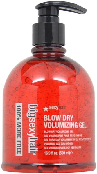 Volumen-Gel zum Trockenfönen - SexyHair BigSexyHair Blow Dry Volumizing Gel Big Time Blow Dry Gel — Bild N3