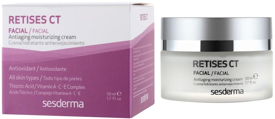 Feuchtigkeitsspendende Anti-Aging Gesichtscreme - SesDerma Laboratories Retises Ct Antiaging Moisturizing Cream — Bild N1