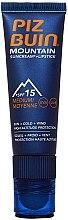 Düfte, Parfümerie und Kosmetik Schützende Creme für Gesicht und Lippen SPF 15 - Piz Buin Mountain Sun Cream Plus Lipstick SPF15