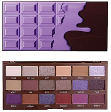 Düfte, Parfümerie und Kosmetik Lidschattenpalette - I Heart Revolution Eyeshadow Palette Violet Chocolate