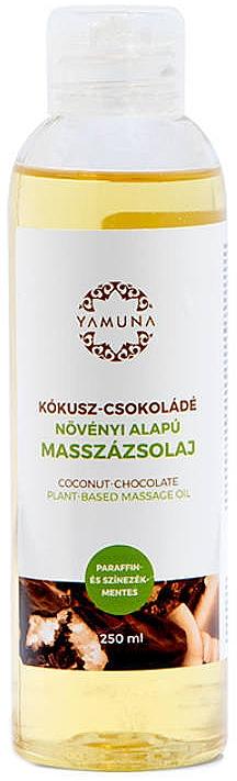 Massageöl Kokosnuss & Schokolade - Yamuna Coconut-Chocolate Plant Based Massage Oil