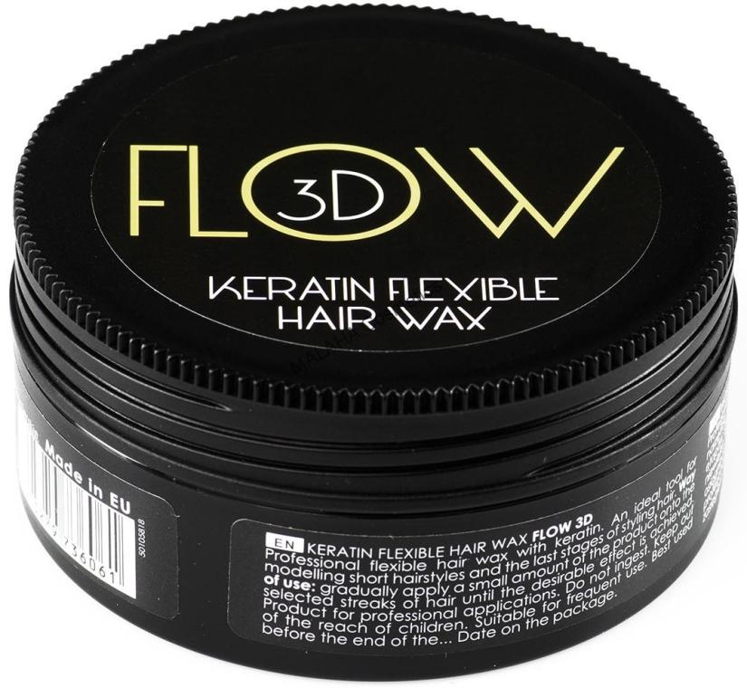 Elastisches Haarwachs mit Keratin - Stapiz Flow 3D Keratin Flexible Hair Wax