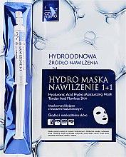 Düfte, Parfümerie und Kosmetik Feuchtigkeitsspendende Tuchmaske mit Hyaluronsäure + Serum - Czyste Piekno Hydro Mask Cloth Face Intensive Hydrating + Serum