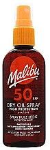 Düfte, Parfümerie und Kosmetik Trockenes Sonnenschutzöl-Spray für den Körper SPF 50 - Malibu Continuous Dry Oil Spray SPF 50