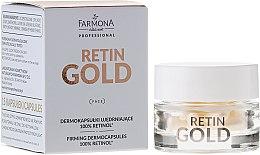 Düfte, Parfümerie und Kosmetik Straffende Dermokapseln mit 100% Retinol - Farmona Professional Retin Gold Firming Dermocapsules 100% Retinol