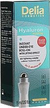Düfte, Parfümerie und Kosmetik Liftinggel für die Augenpartie - Delia Lifting Roll-On 3D Hyaluron Gel