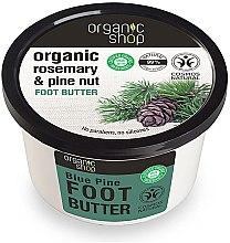 Düfte, Parfümerie und Kosmetik Fußbutter mit Bio Zedern- und Rosmarinöl - Organic shop Foot Butter Organic Cedar and Rosemary