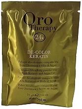 Düfte, Parfümerie und Kosmetik Aufhellendes Kompaktpuder für die Haare mit Keratin und Arganöl - Fanola Oro Therapy Color Keratin