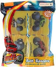 Düfte, Parfümerie und Kosmetik Badeschwamm-Set Blaze und die Monster-Maschinen 4 St. - Suavipiel Blaze And The Monster Machines Bath Sponges